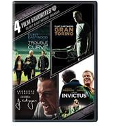 4 Film Favorites: Clint Eastwood Drama DVD4FF On DVD - EE723724