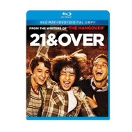 21 And Over Blu-Ray/dvd Combo Pack On Blu-Ray With Miles Teller Comedy - EE723798