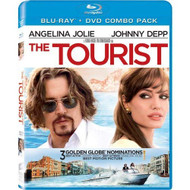 The Tourist Two-Disc Blu-Ray/dvd Combo On Blu-Ray With Johnny Depp 2 - EE723795