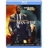 Man On Fire Blu-Ray On Blu-Ray With Denzel Washington - EE723809