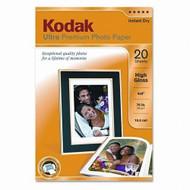 Kodak Ultra Premium Photo Paper High-Gloss Photo Paper 4 In X 6 In 20 - EE723814