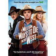 A Million Ways To Die In The West On DVD With Seth Macfarlane Comedy - EE724010