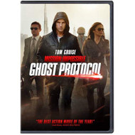 Mission: Impossible Ghost Protocol On DVD With Tom Cruise - EE724016