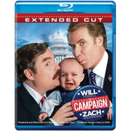 The Campaign Extended Cut Blu-Ray On Blu-Ray With Will Ferrell Comedy - EE724085