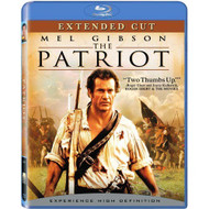 The Patriot Extended Cut Blu-Ray On Blu-Ray With Mel Gibson - EE724099