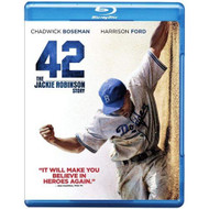 42 Blu-Ray+ultraviolet On Blu-Ray With Chadwick Boseman Drama - EE724121
