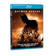 Batman Begins Blu-Ray On Blu-Ray With Christian Bale - EE724135