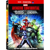 Avengers Confidential: Black Widow And Punisher On DVD With Jennifer - EE724178