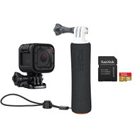 GoPro Hero Session Holiday Promo Kit Camera Black Helmet/Action NOB477 - EE724330