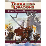 Deluxe Dungeon Master's Screen 4th Edition D&d Strategy Guide - EE724697