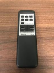 Denon Model RC-191 Replacement Remote Black Wireless - EE724810