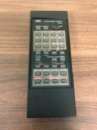 NEC Model RB-D10 Replacement System Remote Control Black Wireless - EE724812