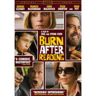 Burn After Reading On DVD With George Clooney Comedy - EE724818
