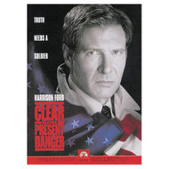 Clear And Present Danger On DVD With Harrison Ford - EE724831