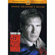 Clear And Present Danger Special Edition On DVD With Harrison Ford - EE724833