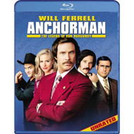Anchorman: The Legend Of Ron Burgundy Unrated Blu-Ray On Blu-Ray With - EE724861