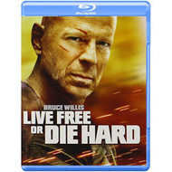 Live Free Or Die Hard Blu-Ray On Blu-Ray With Bruce Willis - EE725032