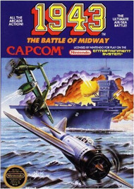 1943: Battle Of Midway For Nintendo NES Vintage Arcade - EE725058