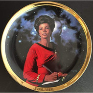 Uhura Star Trek 25th Anniversary Commemorative Collection Plate Multi - EE725206