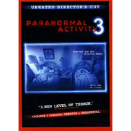 Paranormal Activity 3 Blu-Ray/dvd Combo In Packaging On DVD With Chloe - EE725352
