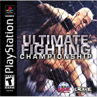 Ultimate Fighting Championship For PlayStation 1 PS1 - EE727494
