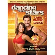 Dancing With The Stars: Latin Cardio Dance DVD On Audiobook CD - EE727957