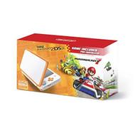 2DS XL Console Orange White With Mario Kart 7 Pre-Installed Nintendo  - ZZ728135