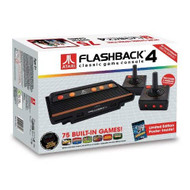At Games Atari Flashback 4 Classic Game Console Black Home - EE728154