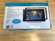 "Vuescape 9"" Digital Picture Frame Multicolor HFJ930 - EE728156"