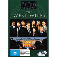 The West Wing Season 3 On DVD With Martin Sheen Rob Lowe Drama - EE728179