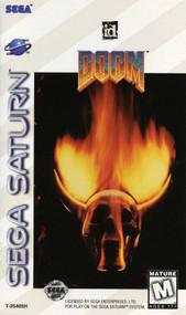 Doom For Sega Saturn Vintage Shooter - EE728324