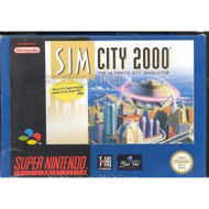 Simcity 2000 For Super Nintendo SNES Strategy - EE728564