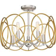 Minka Lavery 4025-679 Chassell Semi Flush Ceiling Lighting 5-LIGHT 300 - MM729522