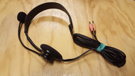 Emkay Wired Mono Headset Black - EE730118