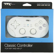 TTX Tech /Wii U Classic Controller For Wii White Gamepad DPF655 - EE730290