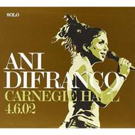 Carnegie Hall 4/6/02 By Ani Difranco On Audio CD Album 2017 - EE730645