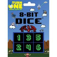 8-BIT Dice Monochrome Toy - EE730942