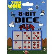 D6 8-BIT Dice Hearts 6 Toy - EE730941