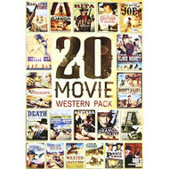 20-MOVIE Western Pack On DVD With George Hilton Westerns - EE732148