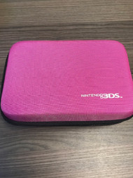 Nintendo Pink Zippered Nylon Carrying Case For 3DS Travel KEA867 - EE732931