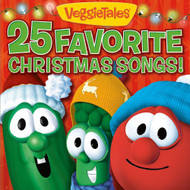 25 Favorite Christmas Songs! By Veggietales On Audio CD Album 2009 - EE733292