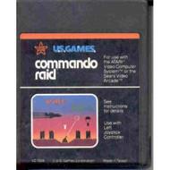 Commando RAID US Games Vintage 2600 Game Cartridge For Atari - EE733396
