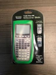 Green Silicone Calculator Skin Fits TI-84 Plus And TI-84 Plus SE - EE733415