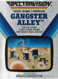 Gangster Alley For Atari Vintage Arcade - EE733445