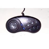 Super Pad Controller For Sega Genesis Vintage Black Gamepad - EE733509