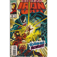 Iron Man Vol 1 #302 March 1994 Venom-Ous Blowout! By Len Kaminski And - EE733609