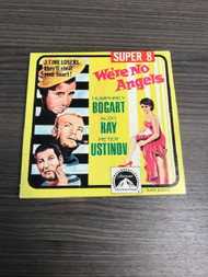 We're No Angels Super 8MM Short Movie Film With Box Humphrey Bogart - EE733725
