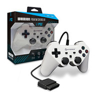 Hyperkin Warrior Premium Controller For PS2 White For PlayStation 2 - EE733904