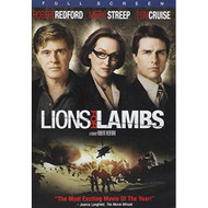 Lions For Lambs Full Screen Edition On DVD With Tom Cruise Drama - EE734257