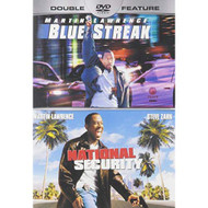 Blue Streak / National Security On DVD with Lawrence  Martin Comedy - EE734495